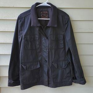 J Crew washed and aged utility jacket
